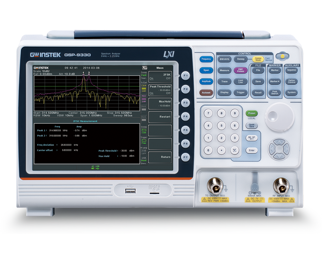 GSP-9330频谱分析仪